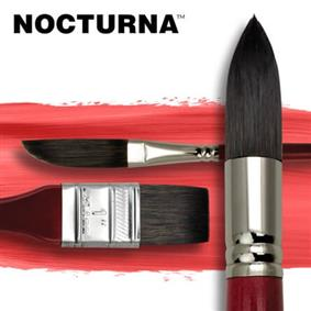 Nocturna Watercolour Art Paint Brushes