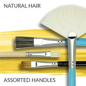 Natural Hair Art Paint Brushes
