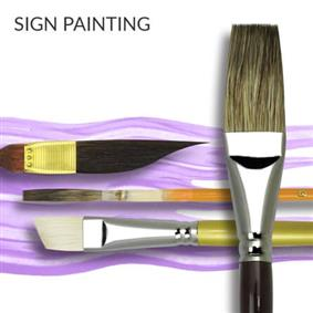 Sign Painting Brushes