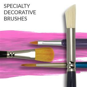 Artists Speciality Decorative Painting Brushes