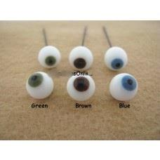 Glass Eyes for Miniatures 3mm