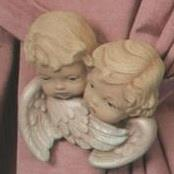Cherub Heads with Wings