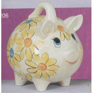 S3274 extra large piggy bank includes stopper 24cm jmdcrafts - Extra large ceramic piggy bank ...