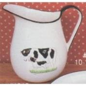 A1018-Country Cow Milk Pitcher 23cmH