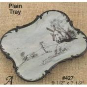 A427-Plain Plaque or Tray 24 x 19cm