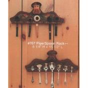 A767-Pipe Rack or Spoon Holder 16H x 40cmW