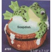 A781-Frog Soap Dish 13H x 19cmW