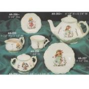 AA206-Cup & Saucer for Child's Tea Set 4.5cmH