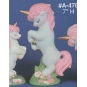 AA476-Rearing Mama Unicorn 18cmH