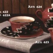 ARN622ST-Cup 9 .5 x 5cm & Saucer 11cm