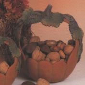 D1093-Large Pumpkin Basket 25cm
