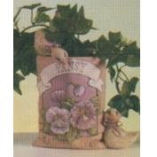 D1505-Pansy Seed Packet with Ducks 14cm
