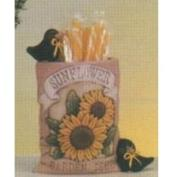D1507-Sunflower Seed Packet with Crows