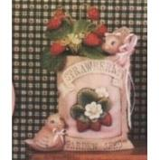 D1536-Strawberry Seed Packet with Birds 14cm