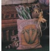 D1546-Sweet Corn Seed Packet with Raccoons 14cm