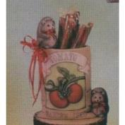 D1547-Tomato Seed Packet with Hedge Hogs 14cm