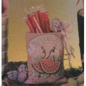 D1551-Watermelon Seed Packet with Birds 14cm