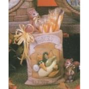 D1566-Gourd Seed Packet with Squirrels 15cm
