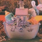D1674 -Noah's Ark Basket 25cm
