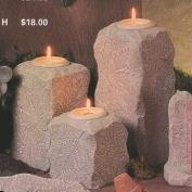 D1760ST-3 Woodland Impressions Large Candles with Votive Candle Cups 13,21 & 28cm