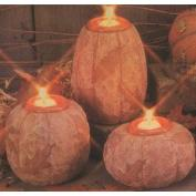 D1780ST-3 Autumn Impressions Pumpkin Candles with Candle Cups 9,13 & 17cm