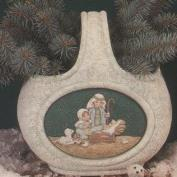 D1820 -Stone Texture Seasons Basket excludes Inserts 25cm (Needs 2 inserts)