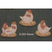 D223 - 3 Geese Magnets