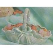 D618-  Small Victorian Mantle Basket 15cm Wide