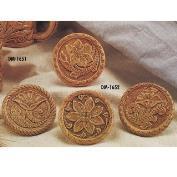 DM1652-Tooled Leather Coaster 10cm