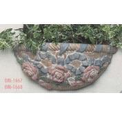 DM1667-Rose & Ribbon Wall Sconce 33cm