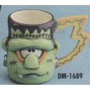 DM1689A-Frankenstein Character Mug 12cm
