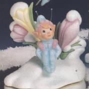 DM1720B -Crocus Votive Candle Holder with Shiver Fairy 17cm