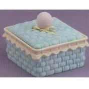 DM1767-Basket Box with Round Knob 10x10cm
