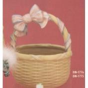 DM1775C-Round Basket with Bow Handle 24cmW