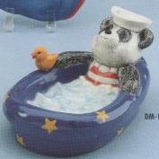 DM1784-Sailor Bear Soap Dish 19cm