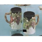 DM1837-Fruit Tall Mug 13cm
