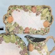 DM1838-Fruit Serving Platter 46cmL