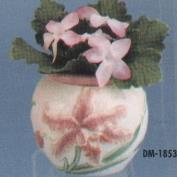 DM1853-Lily Planter Violet Pot 13cmW