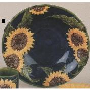 DM1874-Sunflower Bowl for Pitcher 32cmW