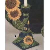 DM1890-Sunflower Candlestick 28cmT