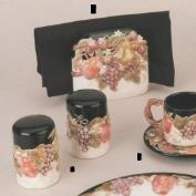 DM1896-Fruit Salt & Pepper Shakers with stoppers 10cmT