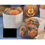 DM1911A-Pumpkin with Blackberries X Large Canister 17cmW 25cmH