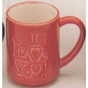 DM1967-I LOVE YOU Mug 11cmH