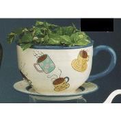 DM2024 -Colosal Planter Cup & DM2013 Saucer 33cm