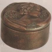 DM2044-Closed Eye Cherub Box 11cmW