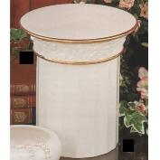 DM2048-Pillar Candle Container with Capital Lid 18 x 13cm