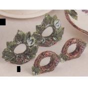 DM2118- 1 Grapevine & 1 Leaf Napkin Ring 8cm