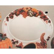 DM2127-Oval Harvest Platter 49cmW