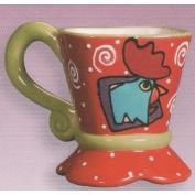 DM2358-Mardi Gras Teacup 10cmH
