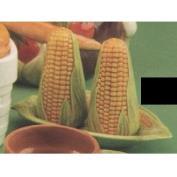DM305B-Corn Salt & Pepper Pots 10cmT with Stoppers